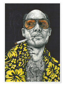 Premium poster  Fear and Loathing - Inked Ikons