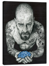 Canvas print  Breaking Bad, Heisenberg - Inked Ikons