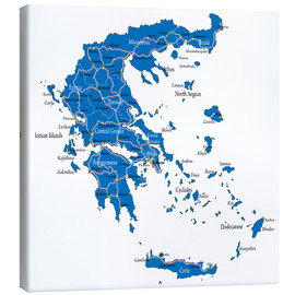 Canvas print  Greece