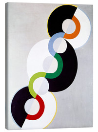 Canvas print  Endless rhythm - Robert Delaunay