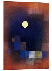Acrylic print  Moonrise - Paul Klee