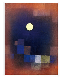 Premium poster  Moonrise - Paul Klee