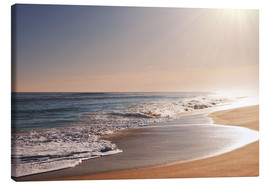 Canvas print  Sunlit beach