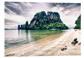 Acrylic print  Nature and Vegetation of Thailand