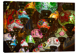Canvas print  Traditional turkish lamps