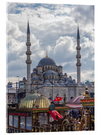 Acrylic print  A mosque in Istanbul