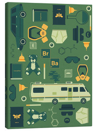 Canvas print  Breaking Bad - Tracie Andrews