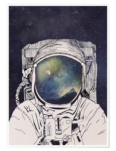 Premium poster Dreaming of Space