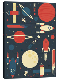 Canvas print  Space Odyssey - Tracie Andrews