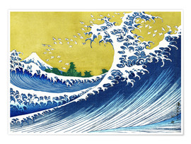 Premium poster The Great Wave off Kanagawa