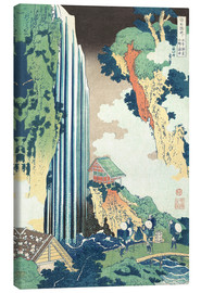 Canvas print  Ono Waterfall on the Kisokaido - Katsushika Hokusai