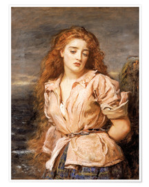 Premium poster  The Martyr of the Solway - Sir John Everett Millais