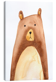 Canvas print  Bear - RNDMS