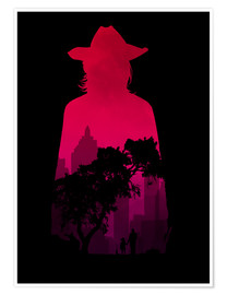 Premium poster  The Walking Dead - Carl Grimes - Alternative Fanart - HDMI2K