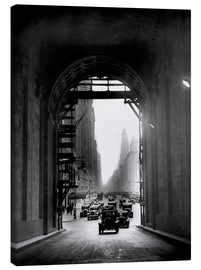 Canvas print  Arch at Grand Central Station - historical