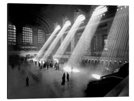 Aluminium print  Historical Grand Central Station