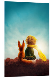 Acrylic print  The Little Prince - Elena Schweitzer