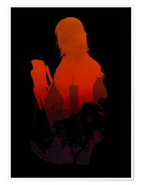 Premium poster  The Walking Dead - Daryl Dixon - Alternative fanart - HDMI2K