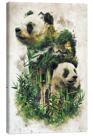 Canvas print  The Giant Panda - Barrett Biggers