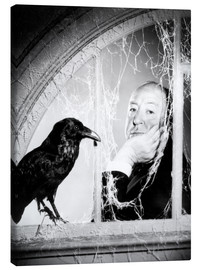 Canvas print  Alfred Hitchcock