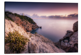 Aluminium print  Morning light at the lighthouse Cala Ratjada / Capdepera (Majorca / Spain) - Kristian Goretzki