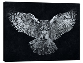 Canvas print  Owl 1 - Christian Klute
