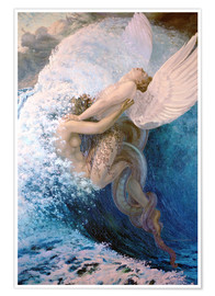 Premium poster  Spleen and Ideal - Carlos Schwabe