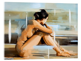 Acrylic print  Thinking - Johnny Morant