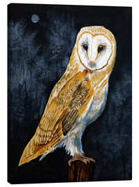 Canvas print  Barn Owl - Paul Ranson