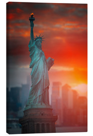 Canvas print  Liberty?