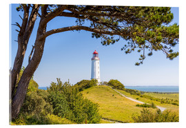 Acrylic print  lighthouse Dornbusch at Hiddensee
