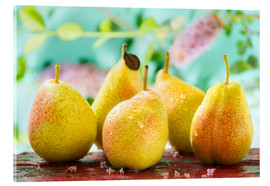 Acrylic print  Five pears - K&L Food Style