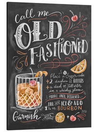Aluminium print  Old fashioned recipe - Lily & Val