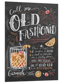 Foam board print  Old fashioned recipe - Lily & Val