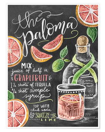Premium poster  the paloma - Lily & Val