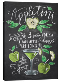 Canvas print  appletini - Lily & Val