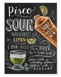 Premium poster  piscosour - Lily & Val