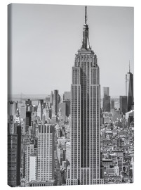 Canvas print  New York City aerial skyline