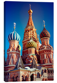 Canvas print  St. Basil's Cathedral, Russia