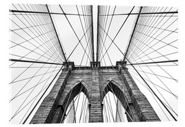 Acrylic print  Brooklyn bridge