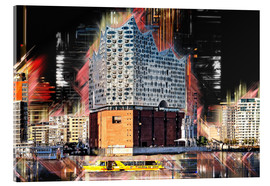 Acrylic print  The new Elbphilharmonie in Hamburg - Peter Roder