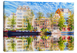 Canvas print  Amsterdam painting - George Pachantouris