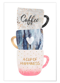 Premium poster A cup of happiness