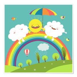 Premium poster  Friendly weather - Kidz Collection