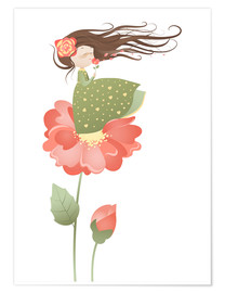 Premium poster  The fragrance of the flowers - Kidz Collection