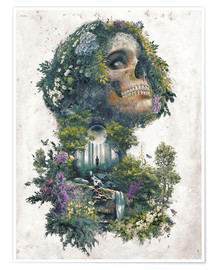 Premium poster  Life and Death Surrealism - Barrett Biggers