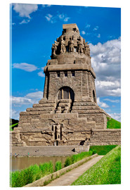 Acrylic print  The Monument to the Battle of the Nations