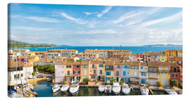 Canvas print  Port Grimaud in the Gulf of St. Tropez - Thomas Klee