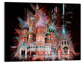 Acrylic print  Moscow Basilica Cathedral - Peter Roder