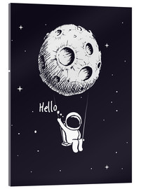 Acrylic print  Moon Swing - Kidz Collection
